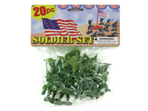 Wholesale: Plastic Soldiers Play Set