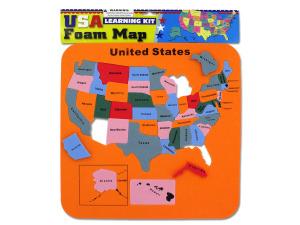 Wholesale: USA Foam Map Set