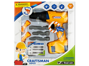 Wholesale: Kids' Electric Drill Play Set
