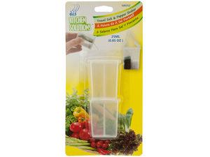 Wholesale: Travel Salt & Pepper Shaker Set