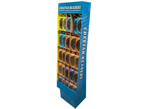 Wholesale: Cheetah Reading Glasses Set Floor Display