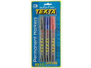 Wholesale: Bullet Point Permanent Markers Set