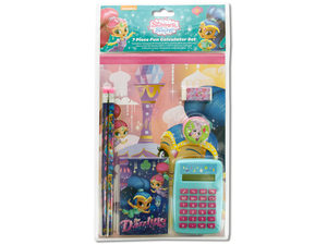 Wholesale: Shimmer and Shine Fun Calculator & Stationery Set