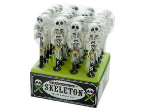Wholesale: Skeleton Eraser & Pencil Duo Countertop Display
