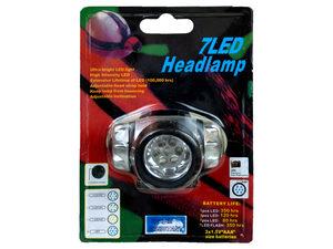 Wholesale: 7 LED Headlamp