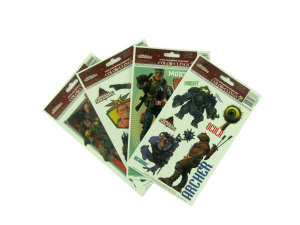 Small Soldiers window clings