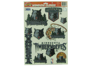 Minnesota Timberwolves window clings