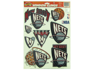 New Jersey Nets window clings