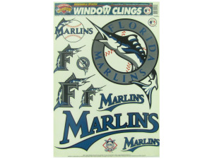 Florida Marlins window clings
