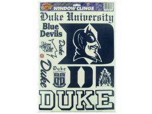 Duke Blue Devils window clings