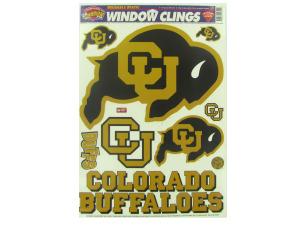 Colorado University Buffaloes window clings