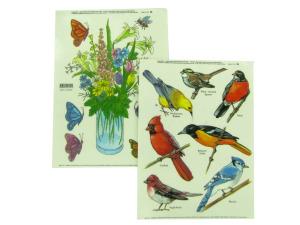 Birds window clings