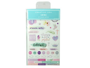 Wholesale: Color Faith Stickerbook