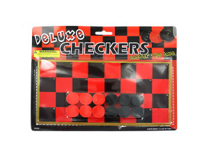 Wholesale: Toy Checkers Game Set