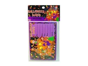 Wholesale: Halloween kids 8 invitations