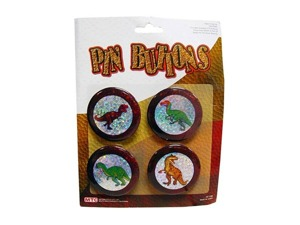 Wholesale: Dinosaur button