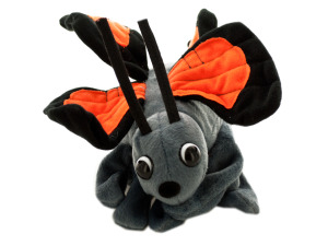 Belina Butterfly Glove Puppet Plush Toy