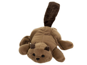 Benny Beaver Glove Puppet Plush Toy