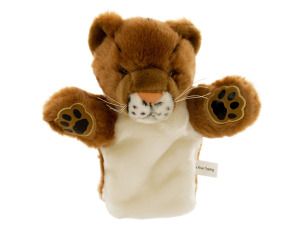 Carlton Cougar Puppet Plush Toy