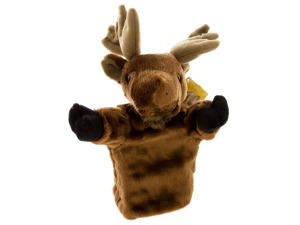 Moose Hand Puppet Plush Toy