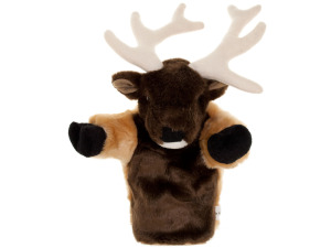 Elton Elk Puppet Plush Toy