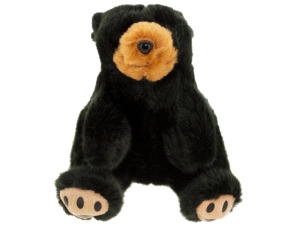 Barney Mini Black Bear Plush Toy