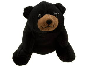 Bart Black Bear Plush Toy