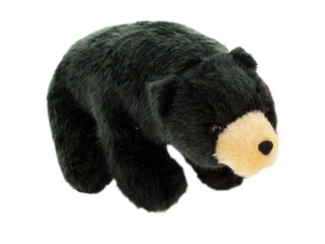 Bob Black Bear Plush Toy
