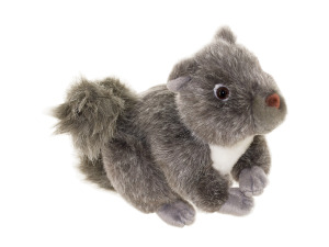 Gary Grey Squirrel Plush Toy