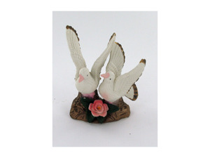 Porcelain dove figurine