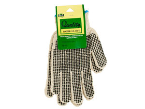 Wholesale: Medium Knit Work Gloves with Texture Dots