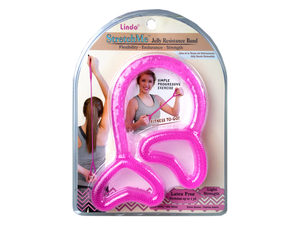 Pink Stretch Me Jelly Resistance Band