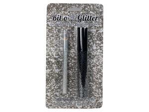 Mascara and Glitter Eyeliner Duo