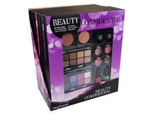 Beauty Confidential Makeup Set In Countertop Display