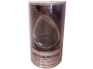 Wholesale: Rose Gold Glitter Silicone Makeup Blender