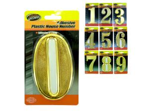 Wholesale: Adhesive Plastic House Numbers