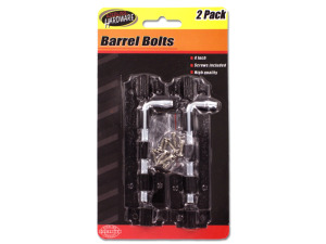 Barrel Bolts with Screws