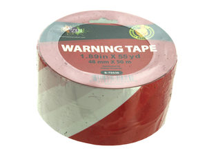 Wholesale: Red and White Warning Tape Roll
