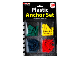 Plastic Anchors Set