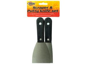 Wholesale: Scraper & Putty Knife Set