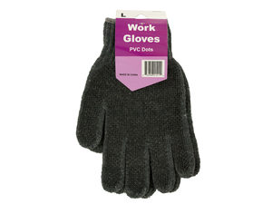 Wholesale: Large Work Gloves with Texture Dots