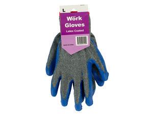 Wholesale: Large Ladies Latex Coated Work Gloves