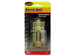 Barrel Bolt with Screws
