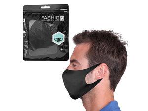 Wholesale: Reusable Black Face Mask