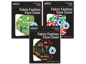 Wholesale: 3 Assorted Men's Masks Golf, Poker, BBQ