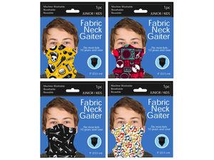 Wholesale: Junior / Kids Music Style Neck Gaiter