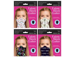 Wholesale: Girls Fun Tween Neck Gaiter