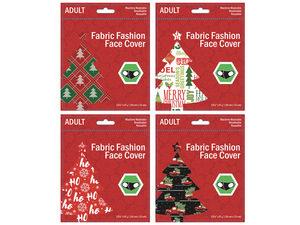 Wholesale: Adult Mixed Christs Designs Washable Face Masks 4 Asst