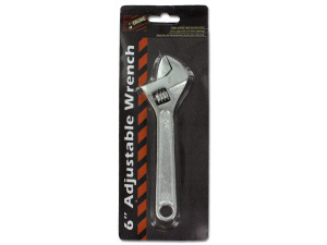 Wholesale: Adjustable wrench, 6""