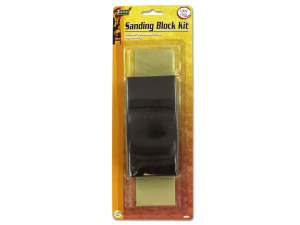 Wholesale: Sanding block kit